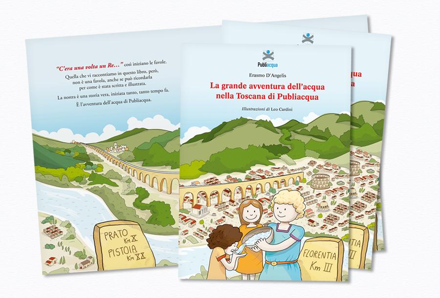 Libro illustrato per Publiacqua