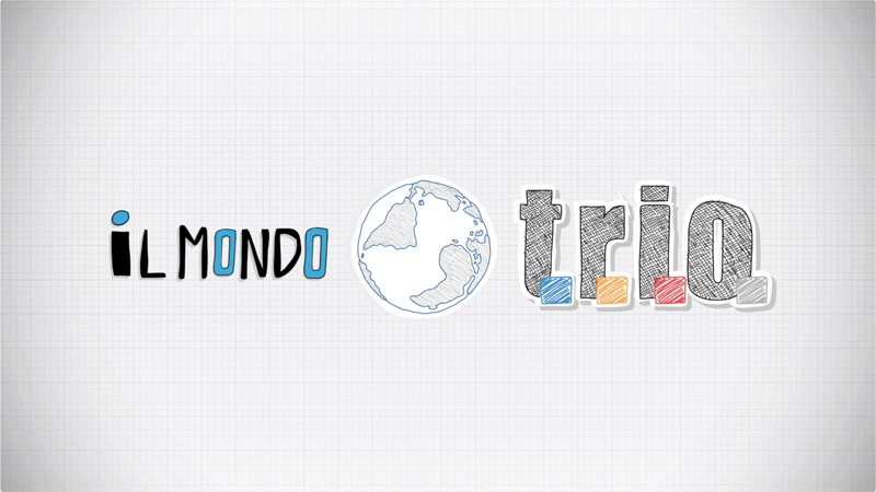 'Il mondo TRIO' Motion graphic video