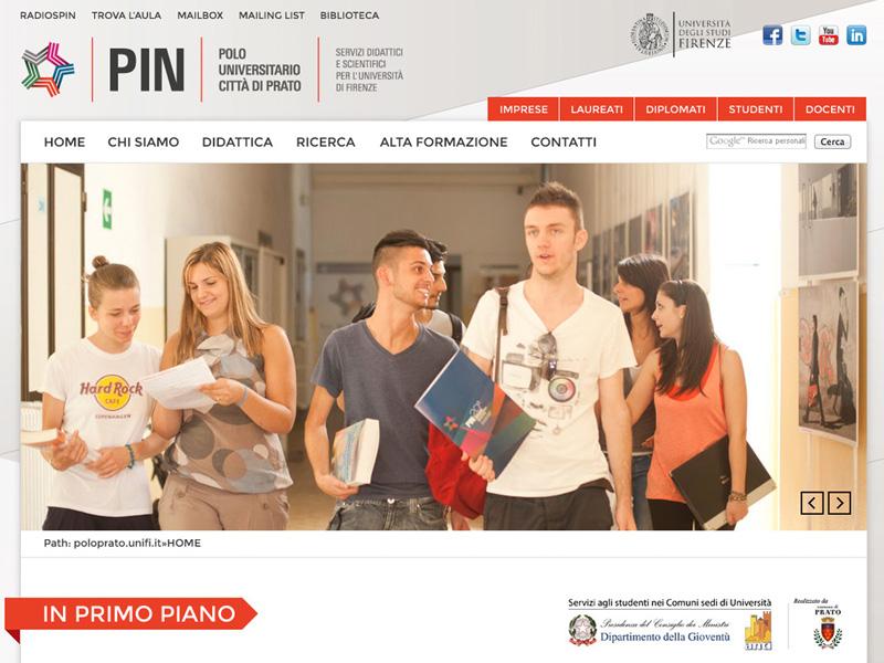 PIN Grafica sito