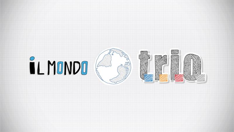 'Il mondo TRIO' Motion graphic video