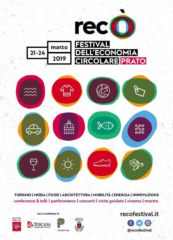 Recò, il Festival dell'Economia Circolare a Prato